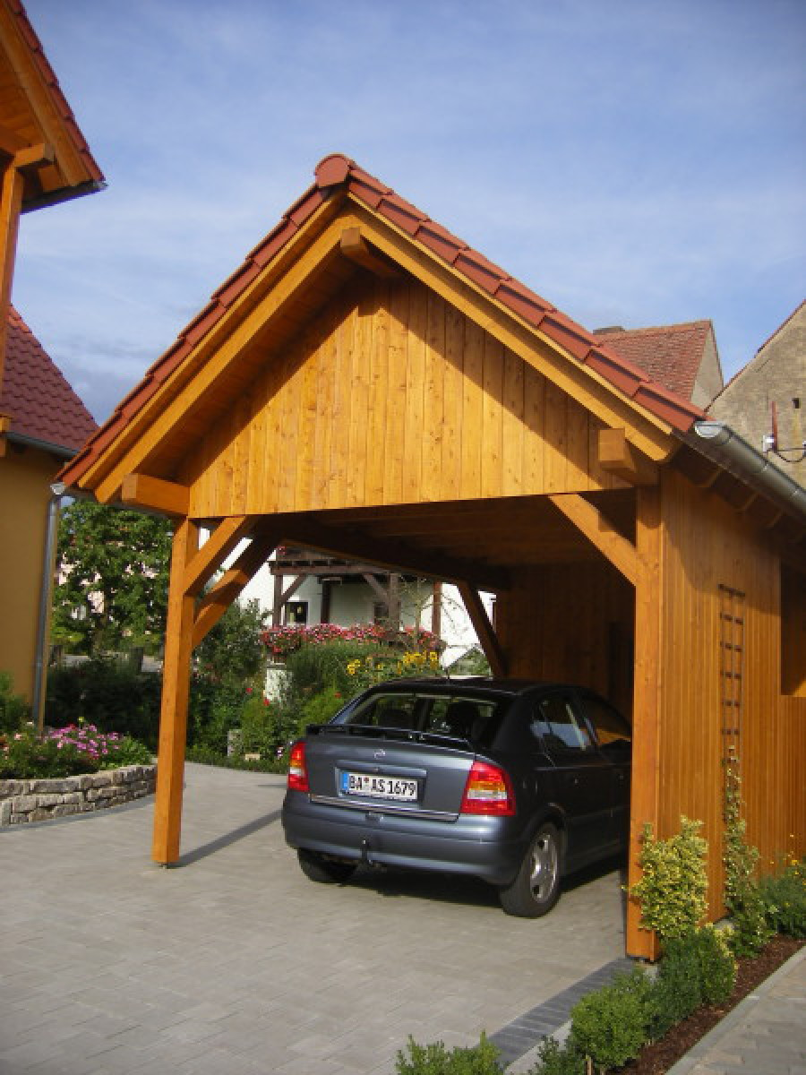 Zimmerei und treppenbau st cklein garagen und carports for Garagen und carports